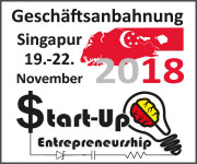 Geschaeftsanbahnung Singapur - Start Up