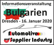 Informationsveranstaltung Bulgarien Automotive 2020
