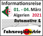 Informationsreise Algerien 2021 Automotive